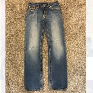 True Religion jeans size 32 distressed look